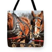 Ohio Draft Horses Tote Bag