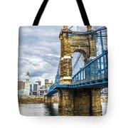 Ohio River Bridge Tote Bag