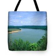 Ohio River Tote Bag