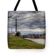 Ohio River Lock Tote Bag