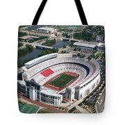Ohio Stadium Aerial Tote Bag
