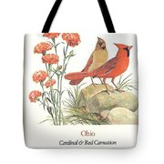 Ohio Stamp First Day Of Issue Tote Bag