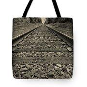 Ohio Train Tracks Tote Bag