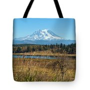 Ohop Valley Of Layers Tote Bag