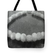 Ohrid Pearls Necklace Tote Bag