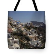 Oia By Day Tote Bag