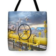 Oil And Gas Tote Bag