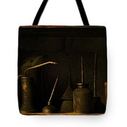 Oil And Grease Tote Bag