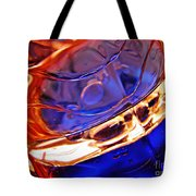 Oil And Water 15 Tote Bag by Sarah Loft