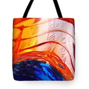 Oil And Water 26 Tote Bag by Sarah Loft