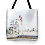 Oil Field Tote Bag