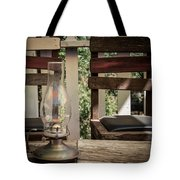 Oil Lamp 2 Tote Bag