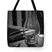 Oil Lamp Tote Bag
