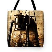 Oil Lantern Tote Bag