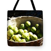 Oil Painting - Based Full Of Guavas Tote Bag