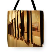 Oil Painting - Getting Framed Tote Bag