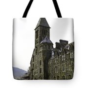 Oil Painting - Repair Of The Benedictine Abbey At Fort Augustus Now Apartments Tote Bag