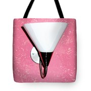 Oil Painting - A Wall Mounted Lamp Set Tote Bag