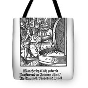 Oil Press, 1568 Tote Bag