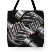Oil Pump Gears Tote Bag