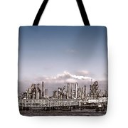 Oil Refinery Tote Bag