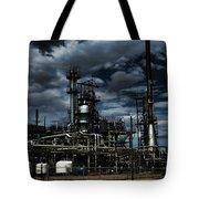 Oil Refinery Sinclair Wyoming Tote Bag