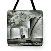 Oil Storage Tanks 1 Tote Bag