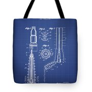 Oil Well Reamer Patent From 1924 - Blueprint Tote Bag