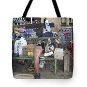 Oj House Detail Tote Bag