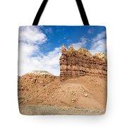 Ojitos De Los Gatos Panorama - New Mexico Tote Bag