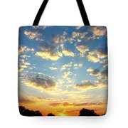 Okavango Delta Sunset Tote Bag