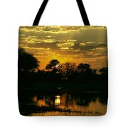 Okavango Sunset Tote Bag