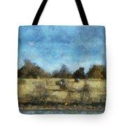 Oklahoma Hay Rolls Photo Art 02 Tote Bag