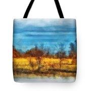 Oklahoma Hay Rolls Photo Art 03 Tote Bag