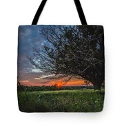Oklahoma Sunset Tote Bag