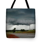 Oklahoma Wall Cloud Tote Bag