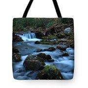 Okonoluftee Mountain Stream Tote Bag