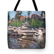 Olcott Yacht Club Tote Bag