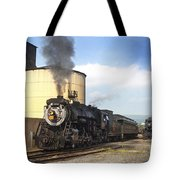Old 3254 Heading Down The Line Tote Bag