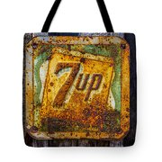 Old 7 Up Sign Tote Bag