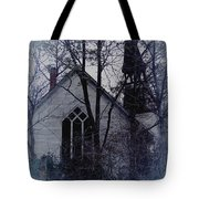 Old Abandoned Church Tote Bag
