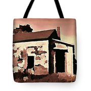Old Abandoned House In Cape Breton Tote Bag by John Malone