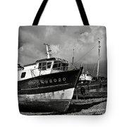 Old Abandoned Ships Tote Bag