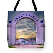 Old Abeles Field - Leavenworth Kansas Tote Bag