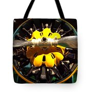 Old Airplane Propellers Tote Bag