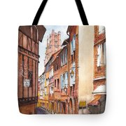 Old Albi The Pink City Of South West France Tote Bag