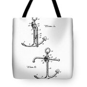 Old Anchor Patent Tote Bag