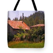 Old And Abandoned In The Country Tote Bag