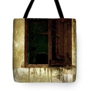 Old And Decrepit Window Tote Bag