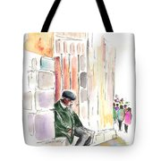 Old And Lonely In Salamanca Tote Bag
